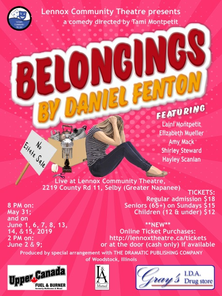 Belongings poster