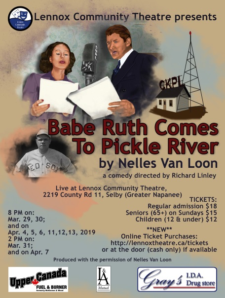 Babe Ruth Comes To Pickle River poster