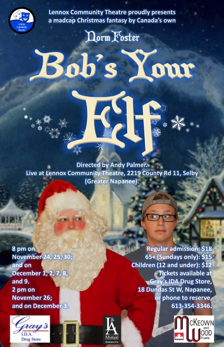 Bob's Your Elf poster